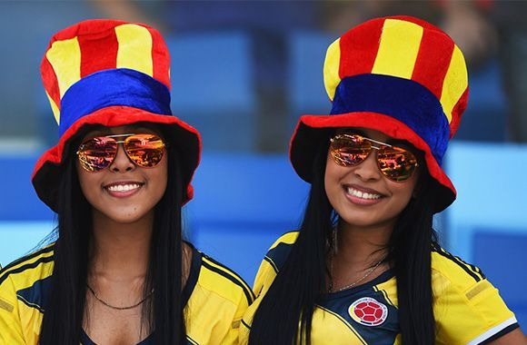 Volunteers Colombian Soccer Fans