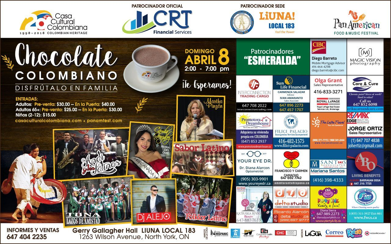Chocolate Colombiano 2018